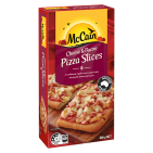 Cheese & Bacon Pizza Slices 600g