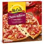 Cheese & Bacon Family Pizza 500g