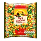 Peas, Super Juicy Corn & Carrots 500g