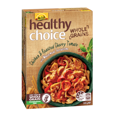 Healthy Choice Whole Grains Chicken & Roasted Cherry Tomato with Wholemeal Fettuccine