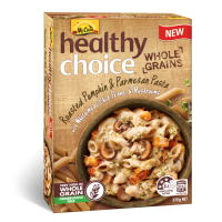 Healthy Choice Wholegrains Roasted Pumpkin & Parmesan Pasta with Wholemeal Chia Penne & Mushrooms